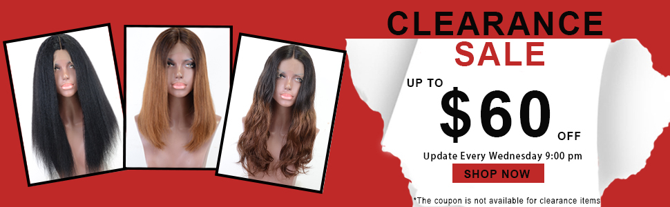 Clearance Lace Wigs