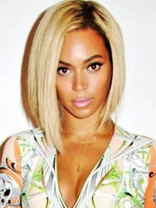 Beyonce Inspired Blunt BOB Brazilian Virgin Ombre Lace Wigs[RCW04P]