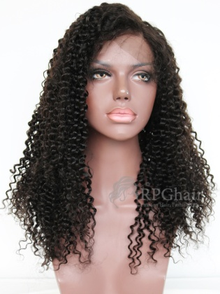 Water Wave Indian Remy Human Hair Glueless Lace Front Wigs[LFW56]
