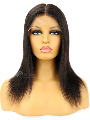 SALE: 10&12'' 180% Density Silk Top 360 Lace Wig Silky Straight Indian Remy Hair[CS29D]