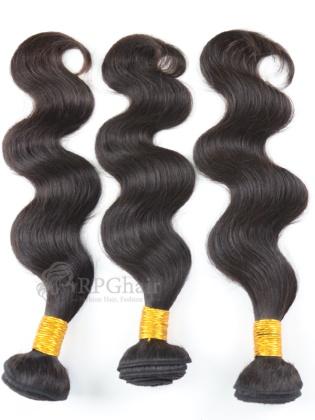 Body Wave Brazilian Virgin Hair 3 Bundles Natural Color