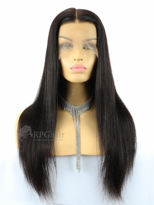 180% Densirty Silk Top 360 Lace Wig Silky Straight Indian Remy Hair[LFW29D]