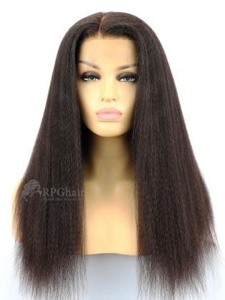Kinky Straight Virgin Brazilian Hair Full Lace Wigs[FLW15]