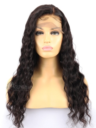 Loose Wave Indian Remy Human Hair Full Lace Wigs