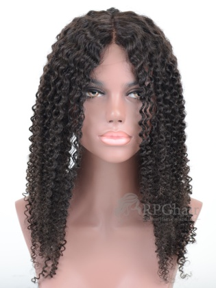 Virgin Brazilian Hair Tight Curl Full Lace Wigs