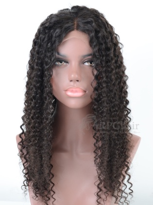 Virgin Brazilian Hair Water Wave Full Lace Wigs