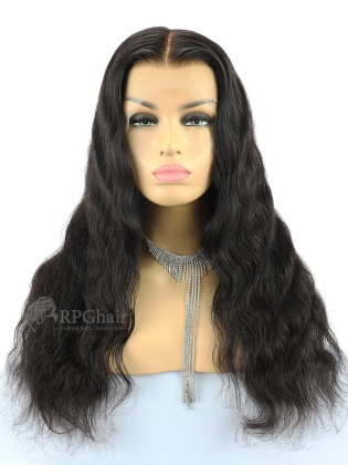 Pre-Parted Body Wave 360 Lace Frontal Wig Indian Remy Hair [LFW31P]