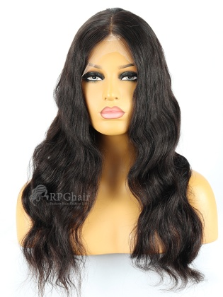 180% Density Silk Top 360 Lace Wig Loose Wave Indian Remy Hair[LFW35D-1]