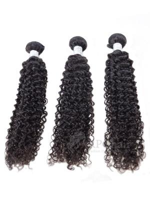Water Wave Indian Virgin Hair 3 Bundles Natural Color