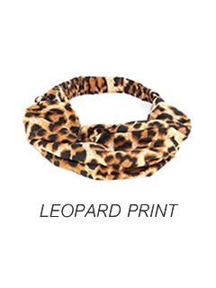 HEADBAND STYLE-LEOPARD PRINT [AC19]