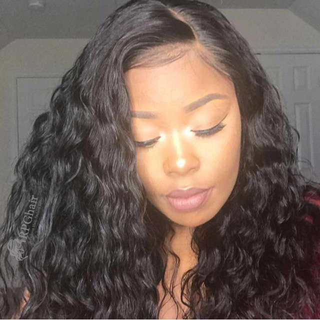 Indian Remy Hair Lace Wigs 117