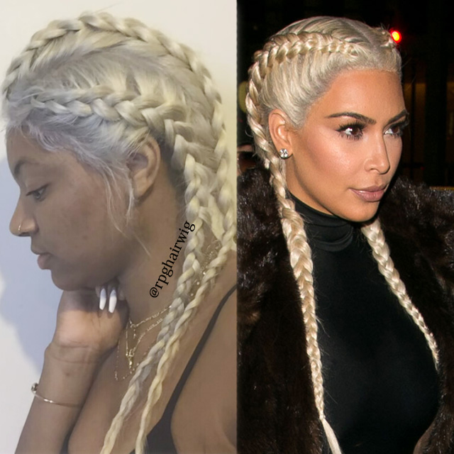 Blonde Braids Hairstyle