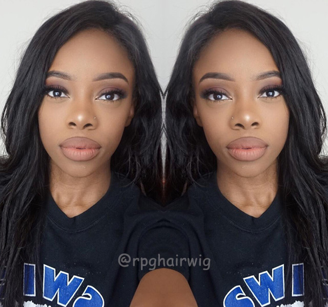 Silky Straight Hair Full Lace Wigs